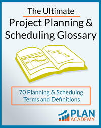 Planning and scheduling Glossary FINAL